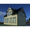 House Buildings Old Museum Iceland