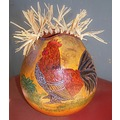 rooster stoneakin gourd