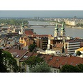 Hungary Budapest cityscape castle Parliament
