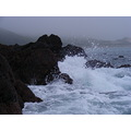 Waves Rocks Freshwater West Pembrokeshire Wales