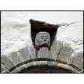 detailsfriday detail church man head face old antique norway culture