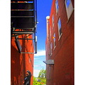 I took this downtown Wallingford this afternoon... I really liked the saturation.