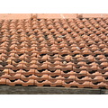 art abstract roof tiles shelter cover