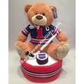 New York Rangers diaper cake
