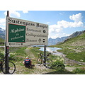 Switzerland bicycling Alps Sustenpass