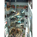 MBK shopping mall in Bangkok Seven floors and packed with stores shoppers