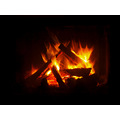 fireplace mood night light