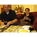 Yesterday night, ap�ritif at Michele new house in Millery, near Lyon. A splendid table and degust...
