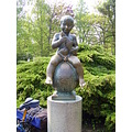 Boy Francis spa CzechRepublic Bohemia sculpture