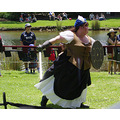 Lassie sword shield reenactment battles Gathering Clans armadale littleollie