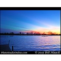st louis mo creve coeur lake US USA sunset sky