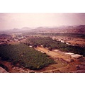 A Birds EyeView of the Hampi Bazar taken from atop the Matanga Hills