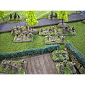 Photos of a Flames of War game - France, late May 1940, 9th Queen's Royal Lancers' tanks (success...