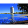 Tweed Heads hotel on the side of sea