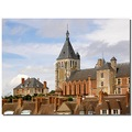 france gien architecture view church castle franx gienx viewf churf castf