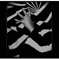 stripes dress black white material hand abstract people keitology bw