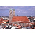 frauenkirche munich church aerial