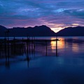 maninjau lake west sumatera indonesia