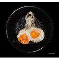 Udo Wolter UWP fried eggs gebratene eier accident zufall