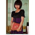beijing girl lady book indoor glass