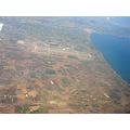 volos airport thessaly greece pagasitic gulf aegean sea mountains street