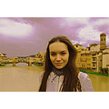 italy fiorenzo florence bridge girl portrait river firenze