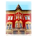 details of some recently restored building in downtown ... ( 1 ) there are the offices up th...