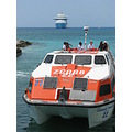 eastern caribbean cruise princess cays ship lifeboat tender ocean sea