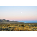 US395 Litchfield Ca moonset lanscape