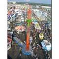 Western Fair from the top of the Ferris Wheel