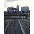 At 3:46pm.Bridge-On Bathurst St.,at Front St.,Toronto,Ont.,On Friday,Oct.18,2013