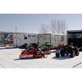 winter powersledraces snowmobileraces beausejour manitoba 2009