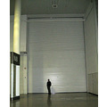 6. Steve standing by the door - yes, folks, that's a door! - to one of the exhibition rooms.