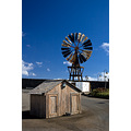 Shed Windmill Lanzarote LosZocos CostaTeguise Sky Clouds