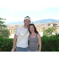 Glenn and I overlooking Florence