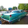 Cadillac 1956 Turkos Rear Billesholm Carmeet Skane Sweden 2013 May 16