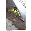 china outdoor spring nature mountain teammate rock portrait