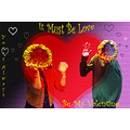 love valentine valantines sunflower heart romance romantic ftcomplove