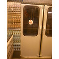 Several metro wagons have been decorated by artists.  One of them has been shooting a video in t...