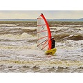 Wind Surfer Skane Sweden 2012 October Skalderviken