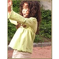 portraitfriday portrait girl France spring fun smile play game child kid