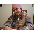 This is me in Evandro's house!!! Evandro is one of my best friends, and I went in his home for do...