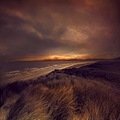 landscape dream ocean rossbeigh beach ireland sunset series keitology