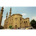 Cairo detail AlRifai Mosque old city islamic architecture Nikon F3