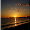 sunset rockingham beach wa australia littleollie