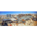 This is 3 photos stitched together.  I took them from my hotel room in Las Vegas.  The detail is ...