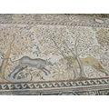 clash of forces, basilica mosaic, Heraclea Lyncestis, Bitola, Republic of Macedonia