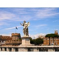 italy rome bridge statue sculpture italx romex bridi stati sculi
