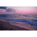 beach ocean waves sand crashing surf sea dawn morning sunrise Florida tropical i