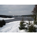 winter snow lake czechrepubilc mountains